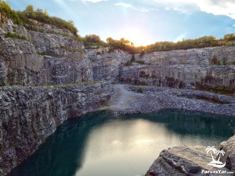 معدن سنگ بلوود ، آتلانتا ، گرجستان