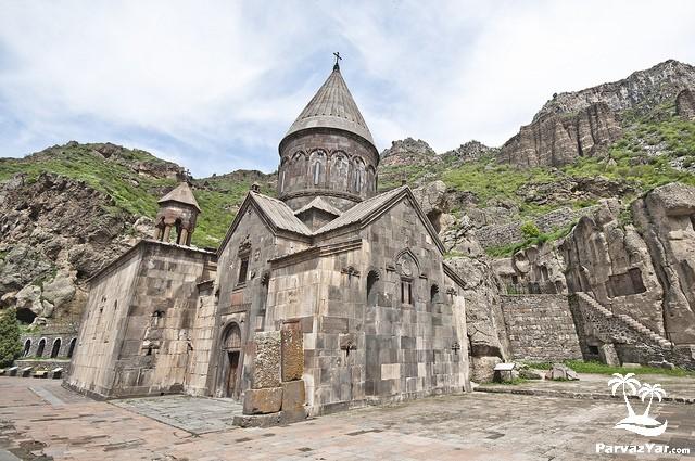 های ارمنستان Geghard monastery