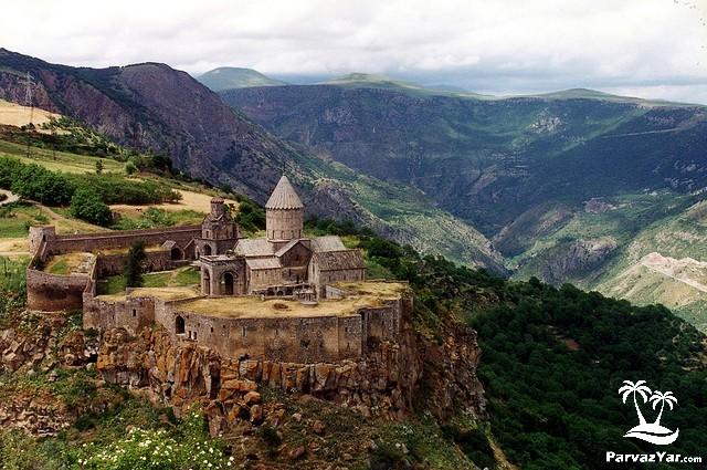 دیدنی های ارمنستان Tatev-Monastery-