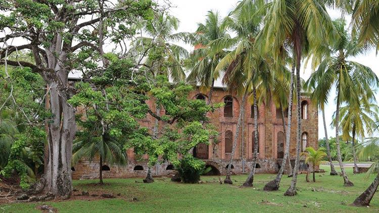 زندان جزیره شیطان، گوییانا، فرانسه
