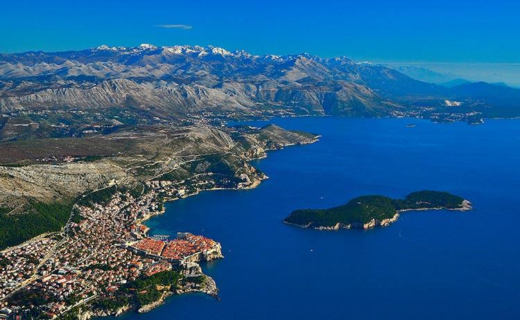 جزیره لوکرم، دوبرونیک، کروواسی