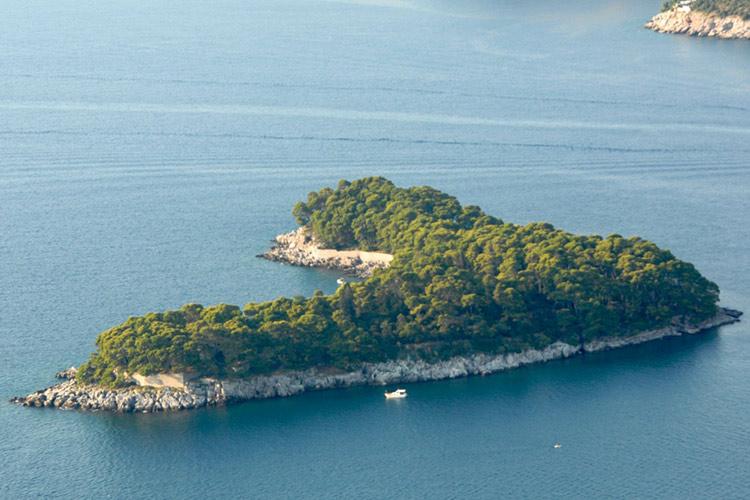 جزیره داکسا، دوبرونیک، کروواسی