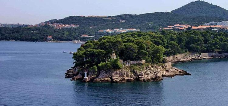جزیره داکسا در دوبرونیک کروواسی