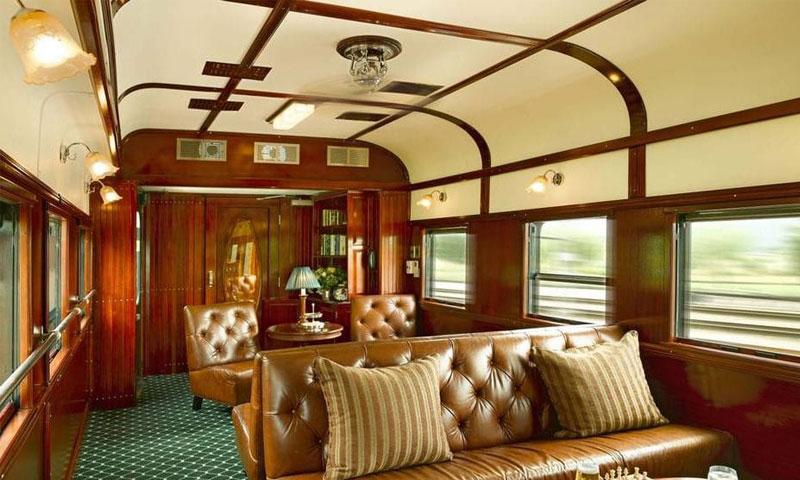 سفر با لوکس ترین قطارهای دنیا
