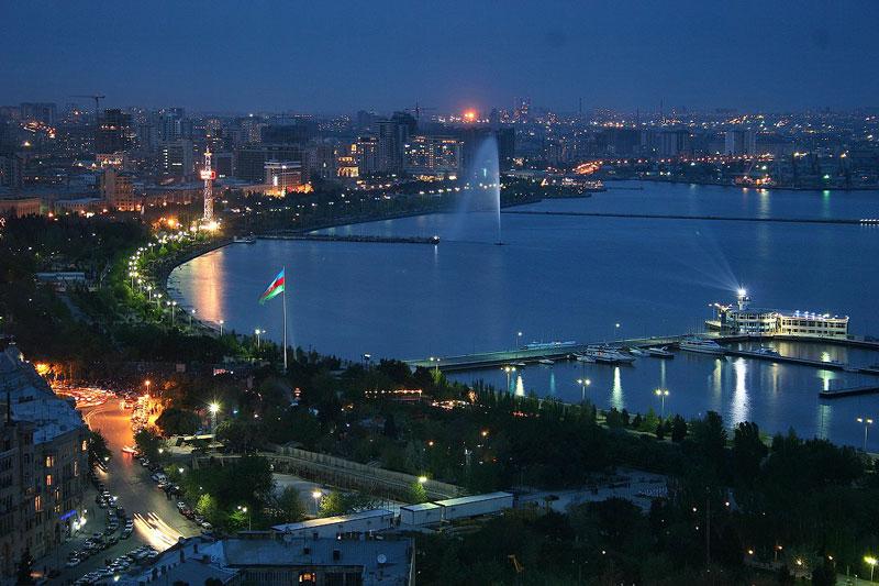 بلوار شهر باکو