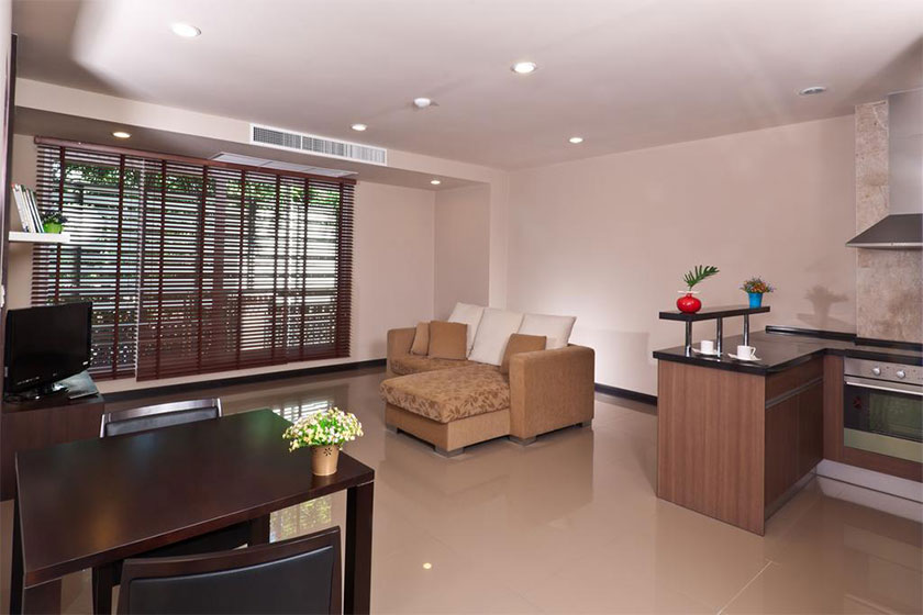 هتل The Tepp Serviced Apartment