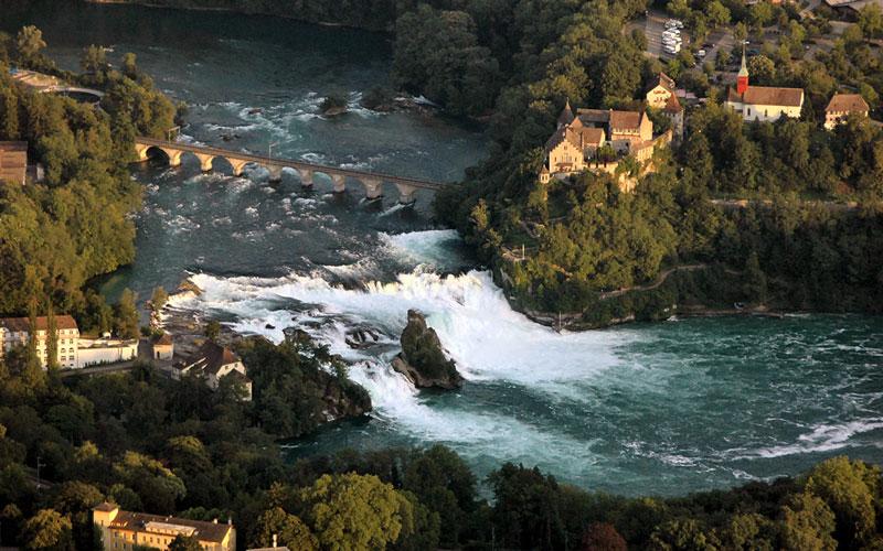 آبشار راین (Rhine Falls)
