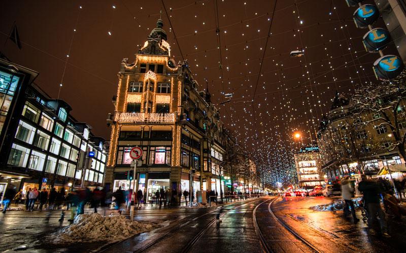 خیابان بانهوف (Bahnhofstrasse)