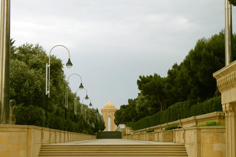 خیابان شهدا باکو