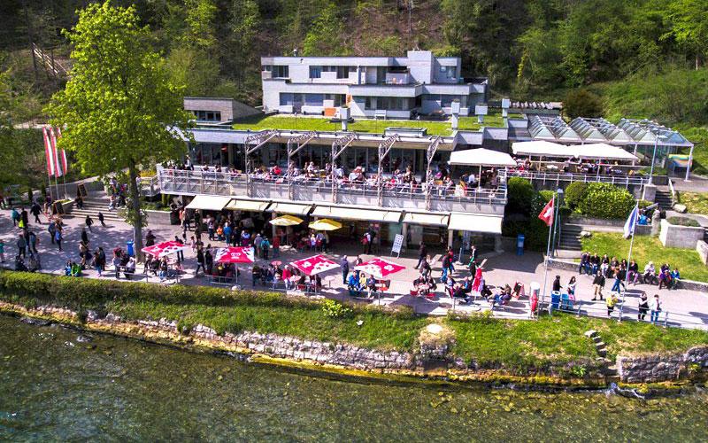 رستوران Restaurant Park am Rheinfall