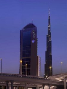هتل Radisson Blu Hotel, Dubai Downtown