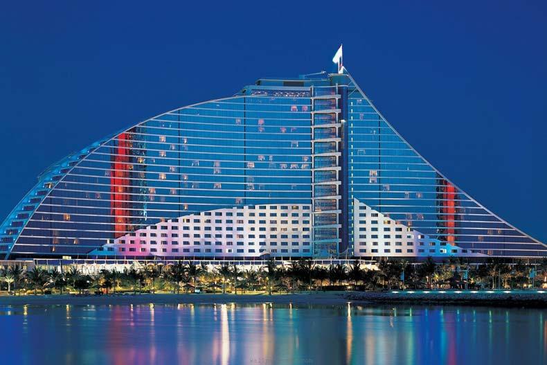 هتلهای زنجیرهای جمیرا