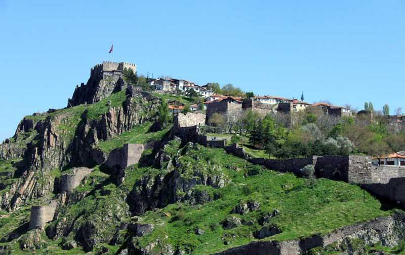 قلعه آنکارا (Ankara Castle)
