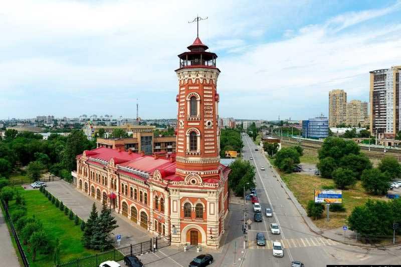 برج آتش نشانی (Zatsaritsynskaya Fire Tower)