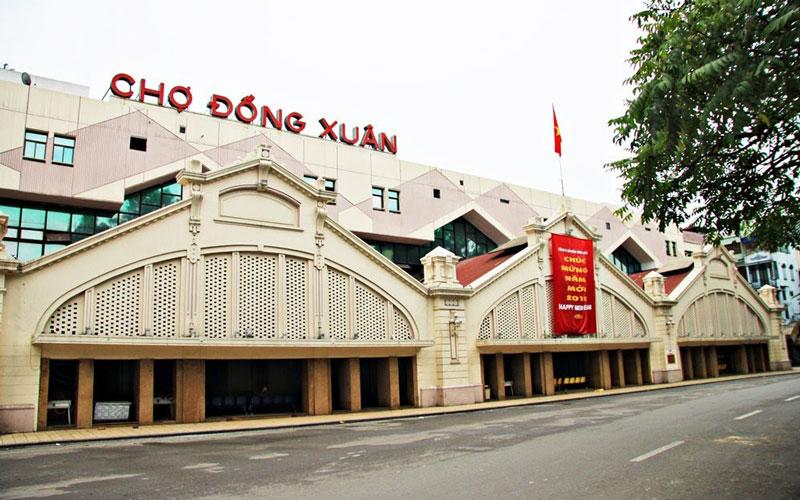بازار دونگ ژوان (Dong Xuan Market)
