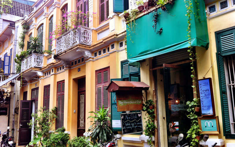 رستوران هانوی سوشال کلاب (Hanoi Social Club)