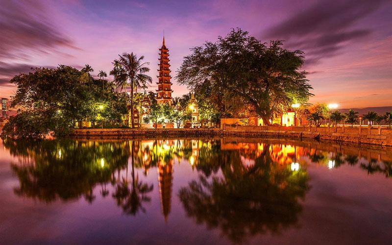 معبد چوآتران کواک (Trấn Quốc Pagoda)
