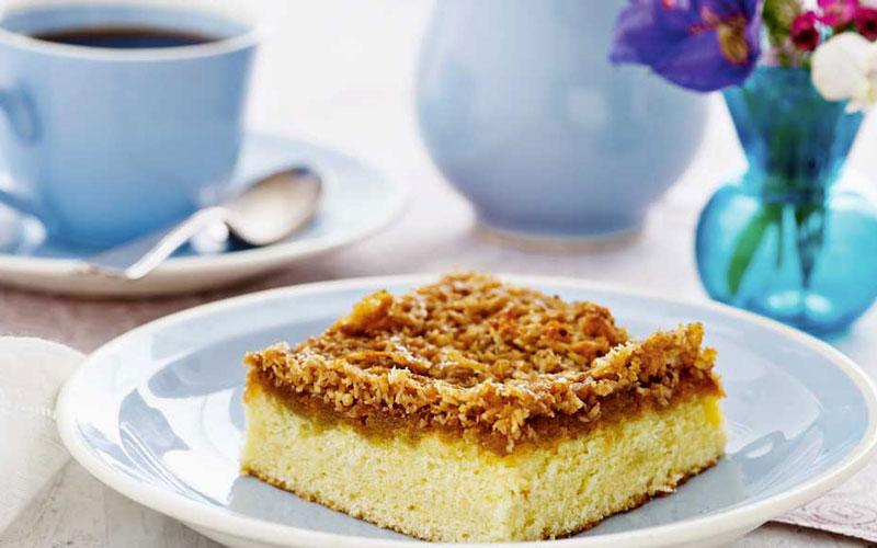 کیک رویایی سوئدی (Drømmekage) – سوئد