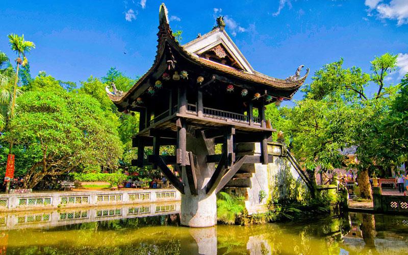 پاگودای تک ستونی (One Pillar Pagoda)