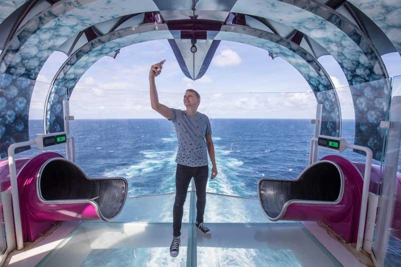 عکاسی در بزرگترین کشتی کروز دنیا