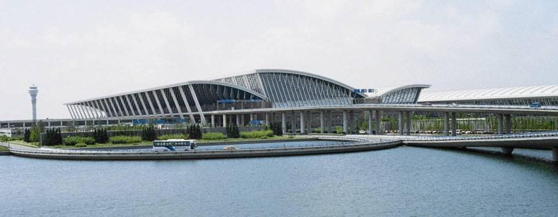فرودگاه بینالمللی پودینگ شانگهای، چین