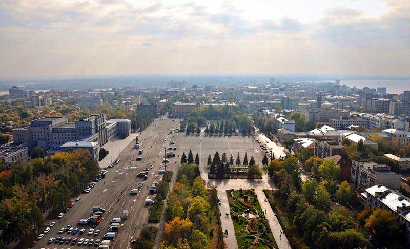 میدان کوباشیف (Kuibyshev Square)