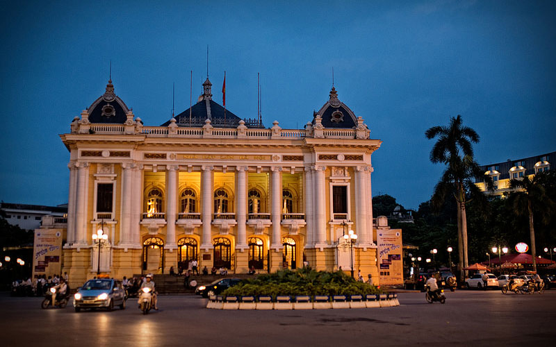 خانهی اپرای هانوی (Hanoi Opera House)