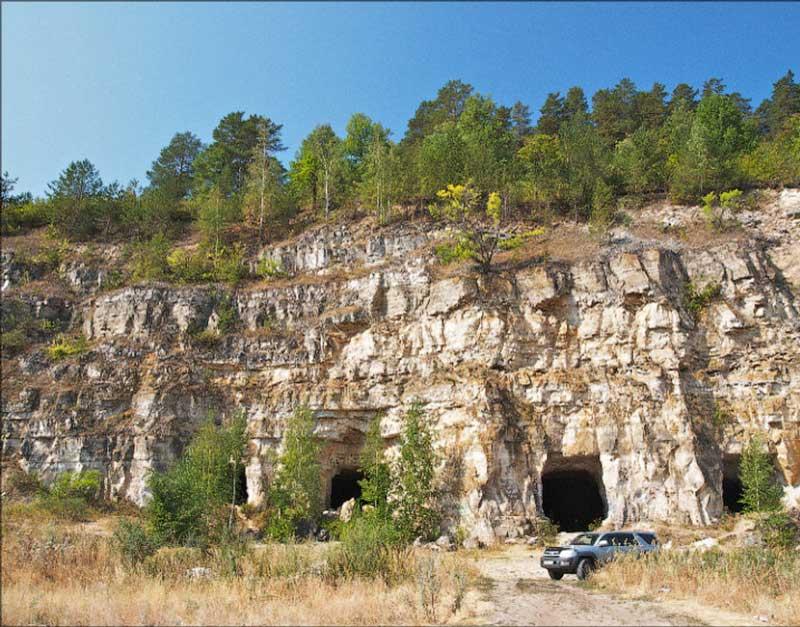 تونل های شیریوو (Shiryaevo Tunnels)