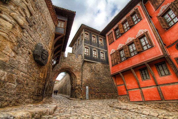 منطقهی قدیمی پلوودیو در بلغارستان