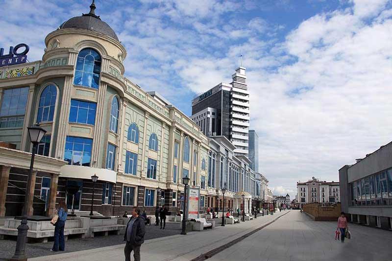 خیابان پیتربورگاسکایا (Peterburgskaya Street)