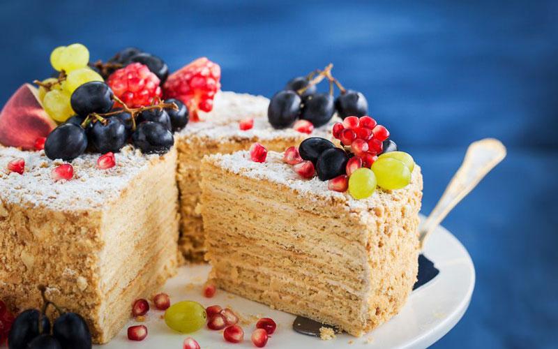 کیک ناپلئونی (Napoleon cake)