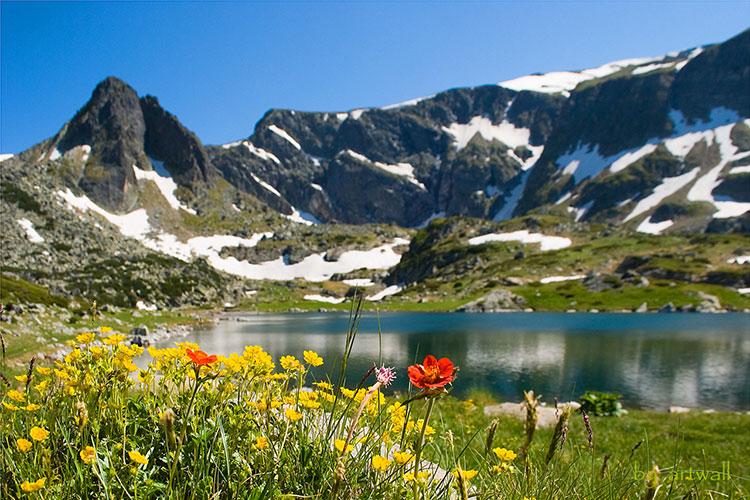 کوه ریلا در بلغارستان