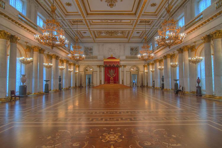 سالنی در کاخ زمستانی