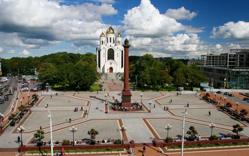 میدان پیروزی و کلیسای مسیح ناجی (Victory Square and Cathedral of Christ the Saviour)