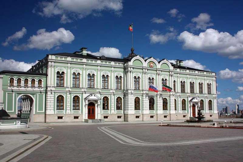 کاخ ریاست جمهوری تاتارستان (Tatarstan Presidential Palace)