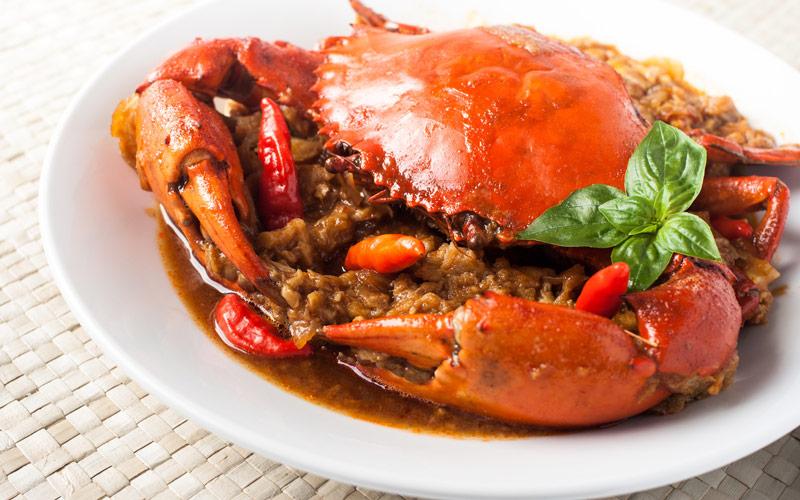 خرچنگ تند - سنگاپور