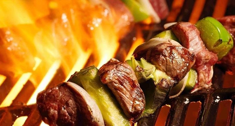 کباب گوشت آهو