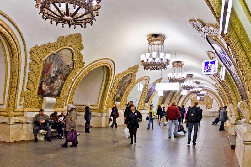 ایستگاه های متروی مسکو