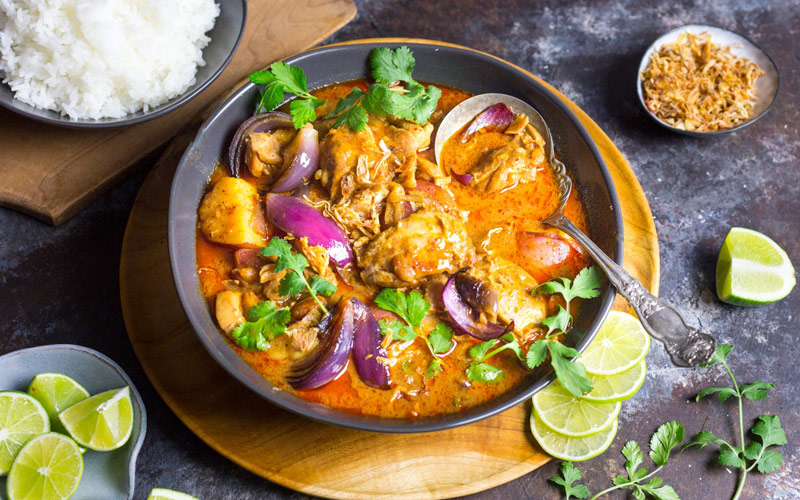 کاری ماسامان (massaman curry) – تایلند