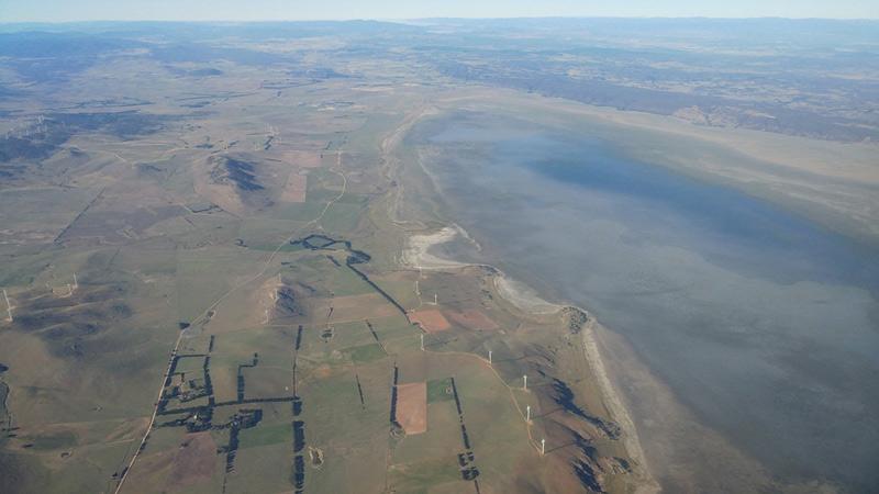 دریاچه جرج؛ دریاچه ای که ناپدید میشود
