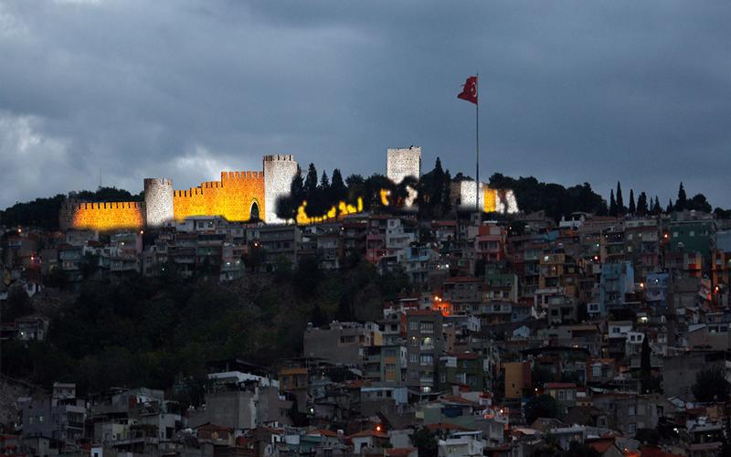قلعه کادیفه کاله (Kadifekale)