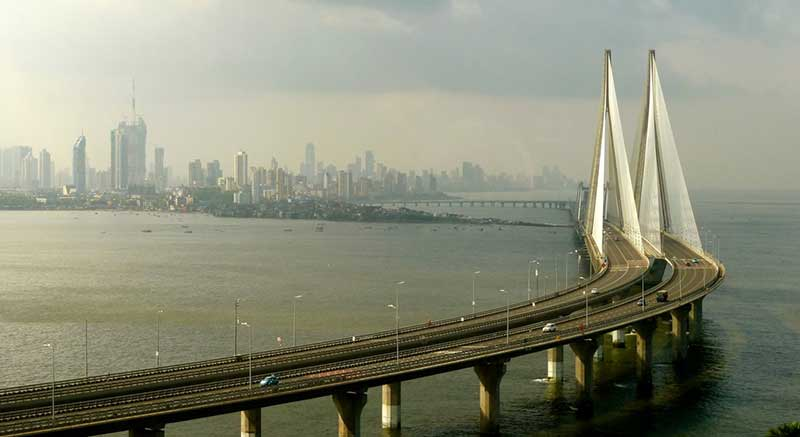 پل کابلی bandra worli sea link