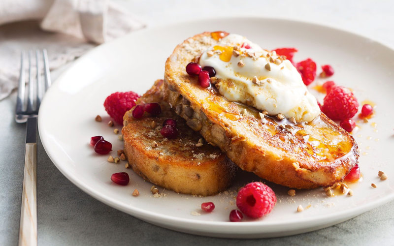 نان تست فرانسوی – هنگ کنگ