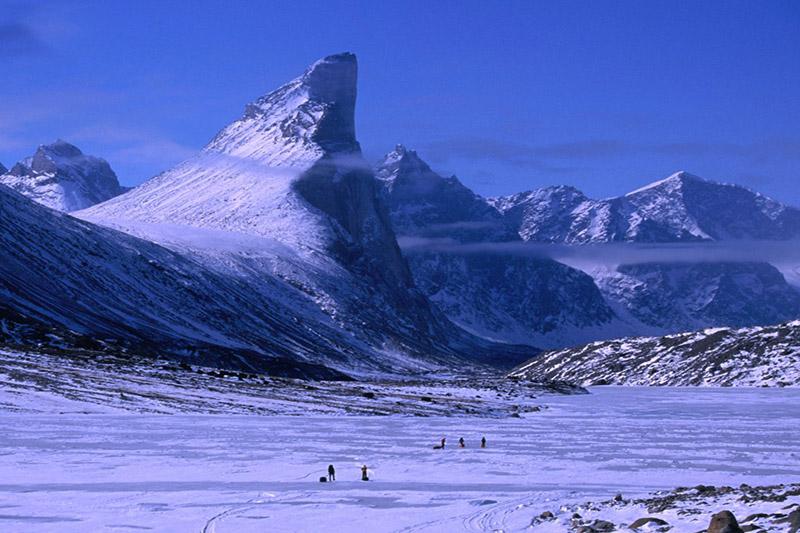 کوه تور در جزیره بافین کانادا