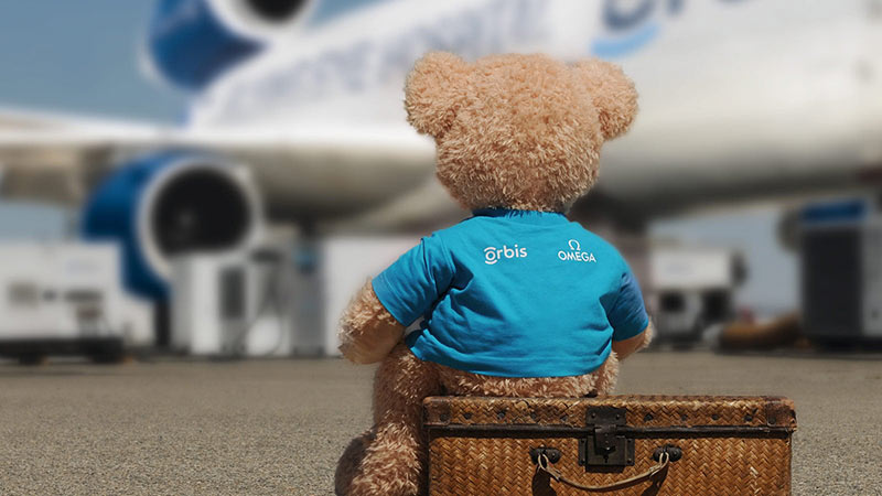 بردن خرس عروسکی به هواپیما