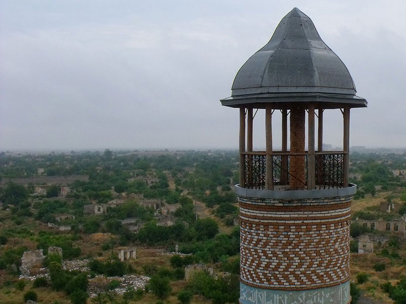 شهر متروکه آق دام در آذربایجان، بزرگترین شهر ارواح جهان
