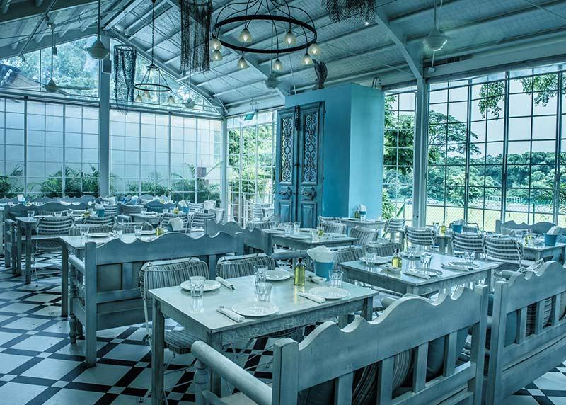 رستوران بلو کوزینا سنگاپور