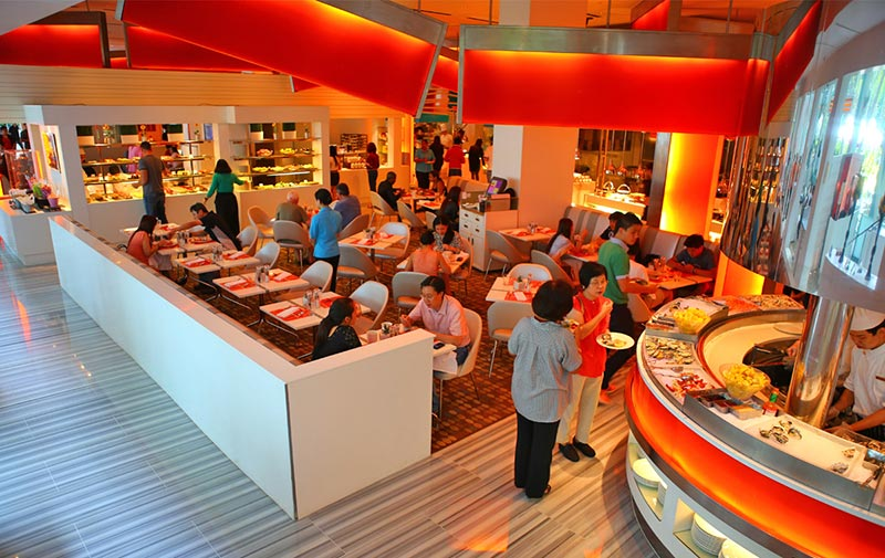 رستوران لاین سنگاپور