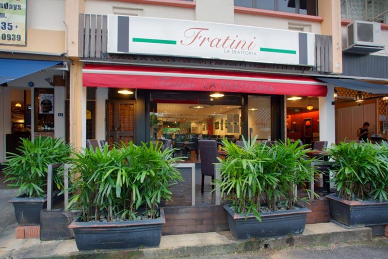 رستوران فراتینی سنگاپور