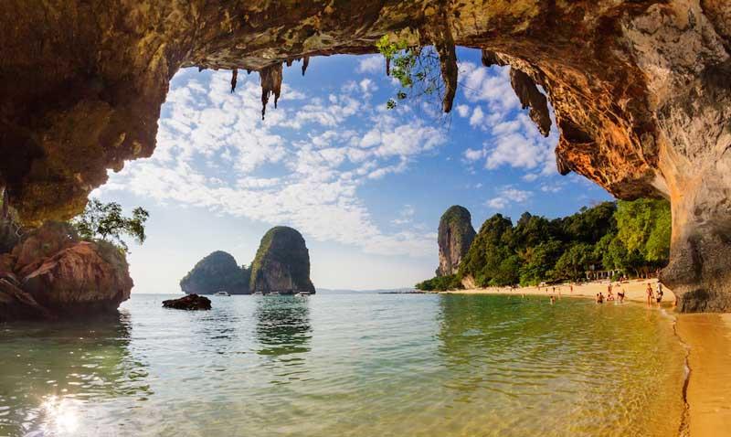 غارها و سواحل ریلی کرابی